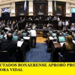 LA CÁMARA DE DIPUTADOS BONAERENSE APROBÓ PROYECTOS ENVIADOS POR LA GOBERNADORA VIDAL
