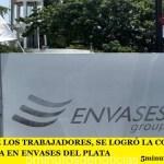 VICTORIA DE LOS TRABAJADORES, SE LOGRÓ LA CONCILIACIÓN OBLIGATORIA EN ENVASES DEL PLATA