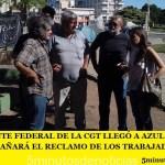 LA CORRIENTE FEDERAL DE LA CGT LLEGÓ A AZUL Y ANUNCIÓ QUE ACOMPAÑA EL RECLAMO DE LOS TRABAJADORES DE FANAZUL