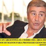 DENUNCIAN EN ARGENTINA EL CIERRE DEL ÁREA DE ARCHIVOS DE DERECHOS HUMANOS PARA PROTEGER GENOCIDAS