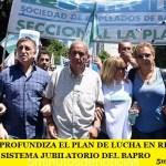 LA BANCARIA PROFUNDIZA EL PLAN DE LUCHA EN RECHAZO A LOS CAMBIOS DEL SISTEMA JUBILATORIO DEL BAPRO