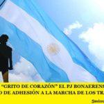 """CON UN """"GRITO DE CORAZÓN"""" EL PJ BONAERENSE LANZÓ UN COMUNICADO DE ADHESIÓN A LA MARCHA DE LOS TRABAJADORES DEL 21F"""