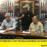 """""""ESTE 21 DE FEBRERO LOS TRABAJADORES QUIEREN HACERSE ESCUCHAR"""""""