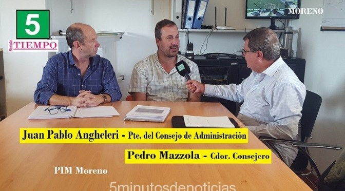 MORENO: ASUMIÓ EL NUEVO CONSEJO DIRECTIVO DE LOS PARQUES INDUSTRIALES (PIM 1 Y PIM 2)