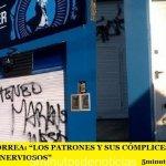 """WALTER CORREA: """"LOS PATRONES Y SUS CÓMPLICES SE ESTÁN PONIENDO NERVIOSOS"""""""