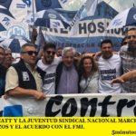 LA CGT, LA CATT Y LA JUVENTUD SINDICAL NACIONAL MARCHAN CONTRA LOS TARIFAZOS Y EL ACUERDO CON EL FMI