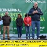 LAS AUTORIDADES DE MERLO GENERANDO CONCIENCIA Y COMPROMISO CONTRA LA DROGA