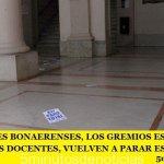 LOS JUDICIALES BONAERENSES, LOS GREMIOS ESTATALES, LOS MÉDICOS Y LOS DOCENTES, VUELVEN A PARAR ESTE LUNES