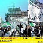 JUDICIALES BONAERENSES | ESTE JUEVES PARO Y MOVILIZACIÓN EN DEFENSA DEL SALARIO