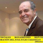 LOS JUDICIALES BONAERENSES REPUDIAN LA CONDECORACIÓN DEL JUEZ JULIO CASANELLO