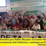 | Análisis | Liderados por Pablo Moyano el Frente Sindical repudia las políticas económicas del Gobierno y anticipa un Paro General