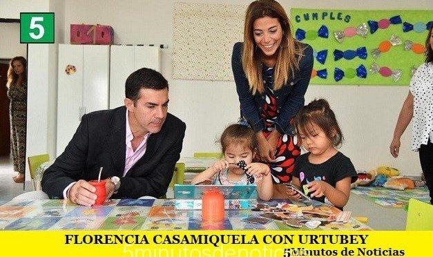 FLORENCIA CASAMIQUELA CON URTUBEY