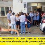 LA PLATA | Finalmente la AJB logró la desinfección de la Secretaría de Apremios afectada por la presencia de roedores