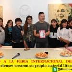 DE MERLO A LA FERIA INTERNACIONAL DEL LIBRO   Alumnos merlenses crearon su propio material literario.