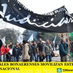 LOS JUDICIALES BONAERENSES MOVILIZAN ESTE JUEVES AL CONGRESO NACIONAL