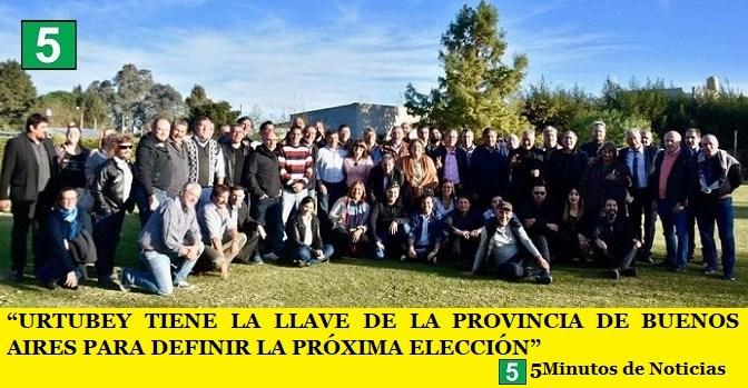 """""""AHORA URTUBEY TIENE LA LLAVE DE LA PROVINCIA DE BUENOS AIRES PARA DEFINIR LA PRÓXIMA ELECCIÓN"""""""