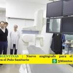 MALVINAS ARGENTINAS | Nuevo angiógrafo para el Servicio de Hemodinamia en el Polo Sanitario