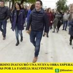 LEO NARDINI INAUGURÓ UNA NUEVA OBRA ESPERADA POR DÉCADAS POR LA FAMILIA MALVINENSE