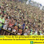 """LEO NARDINI: """"Uno de los principales objetivos del ejecutivo municipal es fomentar la inclusión a través del deporte social"""""""