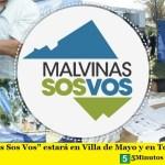 """""""Malvinas Sos Vos"""" estará en Villa de Mayo y en Tortuguitas"""