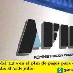 AFIP | La tasa del 2,5% en el plan de pagos para quienes no son Pymes se extendió al 31 de julio