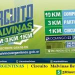 MALVINAS ARGENTINAS | Circuito Malvinas lleva casi 4 mil inscriptos