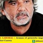 EMERGENCIA LABORAL | Avanza el proyecto impulsado por el Diputado Walter Correa