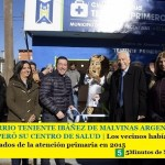 EL BARRIO TENIENTE IBÁÑEZ DE MALVINAS ARGENTINAS RECUPERÓ SU CENTRO DE SALUD    Los vecinos habían sido despojados de la atención primaria en el 2015