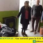 MALVINAS ARGENTINAS | Gas natural para la E.S. Nº13 de Grand Bourg