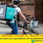 LA JUSTICIA ESPAÑOLA CONTRA EL FRAUDE LABORAL | Un fallo precedente para los repartidores de las plataformas digitales