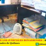 DENUNCIA DE LOS JUDICIALES BONAERENSES | Bajo cero en el edificio de penales de Quilmes