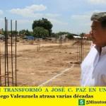 MARIO ISHII TRANSFORMÓ A JOSÉ C. PAZ EN UN MUNICIPIO MODELO   Diego Valenzuela evidenció atrasar varias décadas