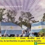 MALVINAS ARGENTINAS | Gran desfile por el Día de la Independencia, la invitación es para toda la familia