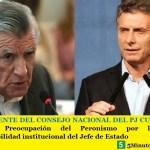 EL PRESIDENTE DEL CONSEJO NACIONAL DEL PJ CUESTIONÓ A MACRI | Preocupación del Peronismo por la enorme irresponsabilidad institucional del Jefe de Estado