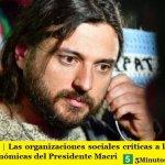 ARGENTINA | Las organizaciones sociales críticas a las recientes medidas económicas del Presidente Macri