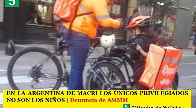 EN LA ARGENTINA DE MACRI LOS ÚNICOS PRIVILEGIADOS NO SON LOS NIÑOS | Denuncia y reclamo de ASiMM