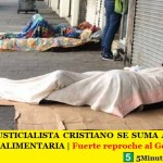 EL FRENTE JUSTICIALISTA CRISTIANO SE SUMA AL PEDIDO DE EMERGENCIA ALIMENTARIA | Fuerte reproche al Gobierno