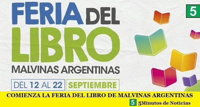 COMIENZA LA FERIA DEL LIBRO DE MALVINAS ARGENTINAS