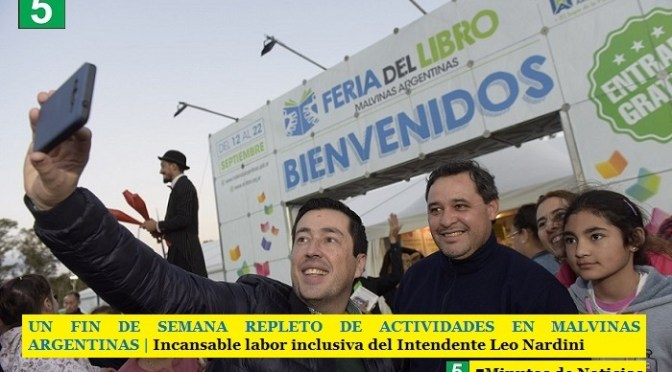 UN FIN DE SEMANA REPLETO DE ACTIVIDADES EN MALVINAS ARGENTINAS | Incansable labor inclusiva del Intendente Leo Nardini