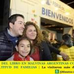 LA FERIA DEL LIBRO EN MALVINAS ARGENTINAS CONVOCÓ A UNA MULTITUD DE FAMILIAS | La visitaron más de 150.000 personas