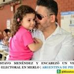 GANÓ GUSTAVO MENÉNDEZ Y ENCABEZÓ UN VERDADERO PUEBLAZO ELECTORAL EN MERLO | ARGENTINA DE PIE ☀️
