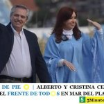 ARGENTINA DE PIE ☀️ | ALBERTO Y CRISTINA CERRARON LA CAMPAÑA DEL FRENTE DE TOD☀️S EN MAR DEL PLATA