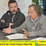 NUEVA INICIATIVA DE GUSTAVO MENÉNDEZ | LOS MUNICIPIOS DE ZONA OESTE SE UNEN PARA CRECER