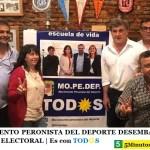 EL MOVIMIENTO PERONISTA DEL DEPORTE DESEMBARCÓ EN LA 7° SECCIÓN ELECTORAL | Es con Tod☀s