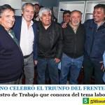 HUGO MOYANO CELEBRÓ EL TRIUNFO DEL FRENTE DE TOD☀️S | Pidió un Ministro de Trabajo que conozca del tema laboral