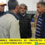 WALTER CORREA PRESENTA SU PROYECTO DE LEY EN DEFENSA DE LA INDUSTRIA DEL CUERO