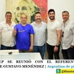 EL MOPEDEP SE REUNIÓ CON EL REFERENTE DEL PJ BONAERENSE GUSTAVO MENÉNDEZ | Argentina de pie ☀️