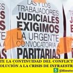 LA AJB DEBATE LA CONTINUIDAD DEL CONFLICTO PARITARIO Y RECLAMA SOLUCIÓN A LA CRISIS DE INFRAESTRUCTURA