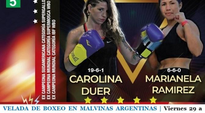 SE VIENE UNA VELADA DE BOXEO EN MALVINAS ARGENTINAS | Viernes 29 a las 19 con entrada libre y gratuita