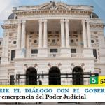 LA AJB PIDE ABRIR EL DIÁLOGO CON EL GOBERNADOR KICILLOF | Situación salarial y emergencia del Poder Judicial
